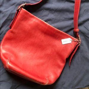 Vintage Red Coach purse